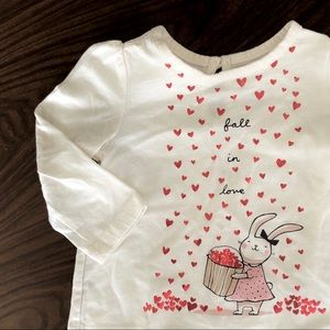 Gap bunny shirt